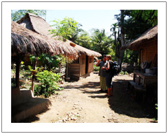 Senaru traditional village