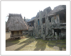 Traditional house of Manggarai