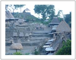 Bena traditional village of Bajawa